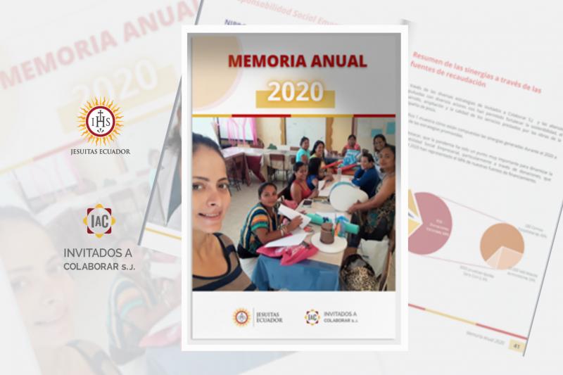 Memoria Anual Invitados a Colaborar SJ - 2020