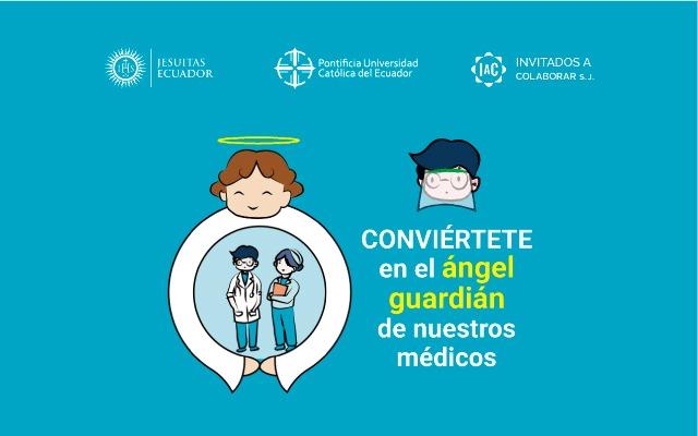 Conviértete en el ángel guardián de nuestros médicos